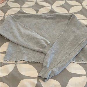 Brandy Melville Tops - Brandy Melville cropped sweatshirt